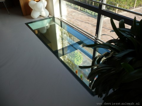 Glazen Vloer Huis : Glazen vloer u2013 mdf lakken hoogglans